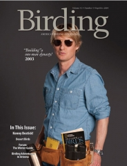 Owen Wilson on Birding Magazine