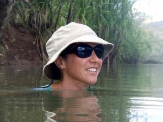 Michelle Swimming