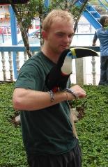 Noah With Toucan