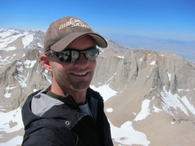 Atop Mount Whitney