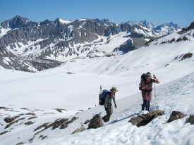 Hikers in the Sierra