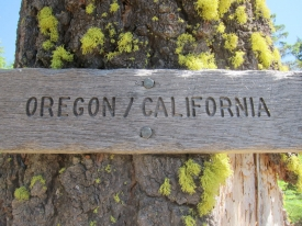 The Oregon-California Border