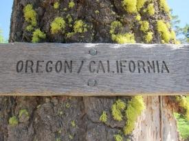 The Oregon-California Border